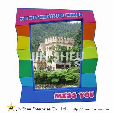 Rainbow Color Photo Frame - Rainbow Color Photo Frame