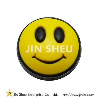 Smiley Face Rubber Charms - Smiley Face Rubber Charms