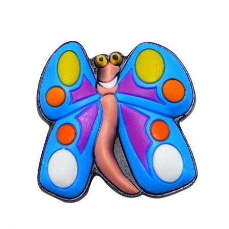 Custom Butterfly Shoe Charm - Custom Butterfly Shoe Charm