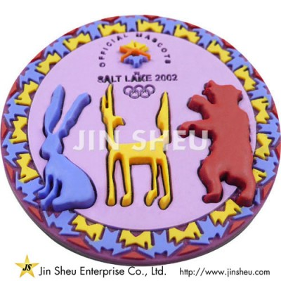 Olympic Soft PVC Lapel Pins - Olympic Soft PVC Lapel Pins