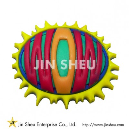 Custom Design Rubber Shoe Charm - Custom Design Rubber Shoe Charm