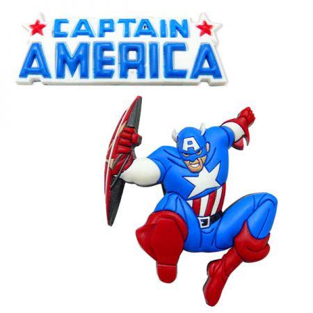 American Captain Shoe Charms - American Captain Shoe Charms
