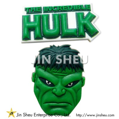 Hulk PVC Shoe Charms - Hulk PVC Shoe Charms