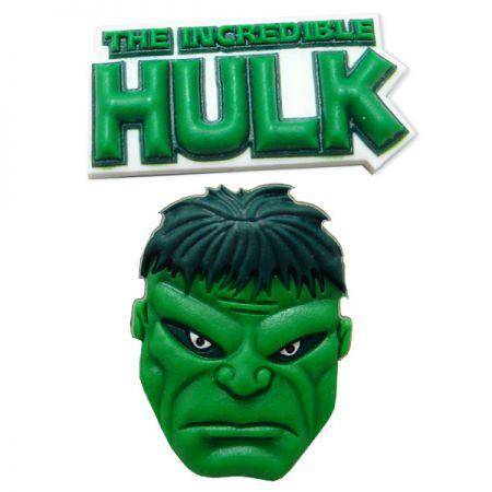 Hulk PVC Shoe Charms - Hulk PVC Shoe Charms