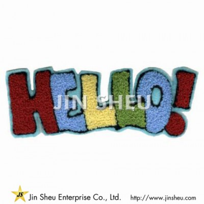 Letter Embroidered Patch Factory - Letter Embroidered Patch Factory