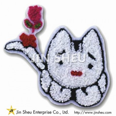 Chenille Patch Cloth Embroidery - Chenille Patch Cloth Embroidery