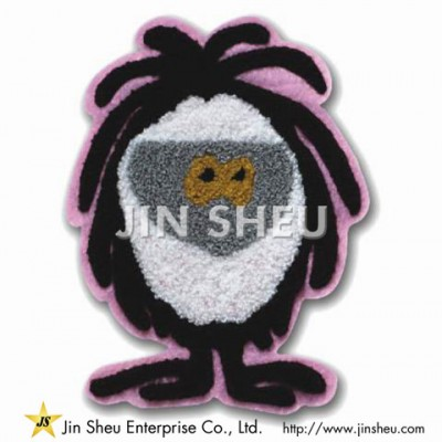 Mascot Chenille Patch - Mascot Chenille Patch