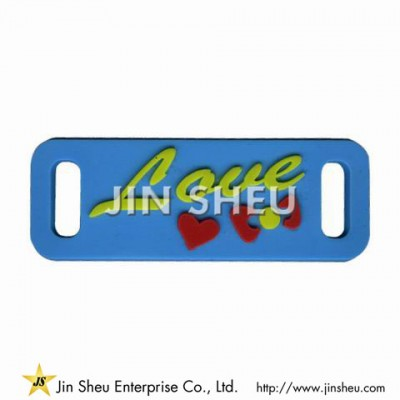 Customized PVC Shoelace Charm - Customized PVC Shoelace Charm