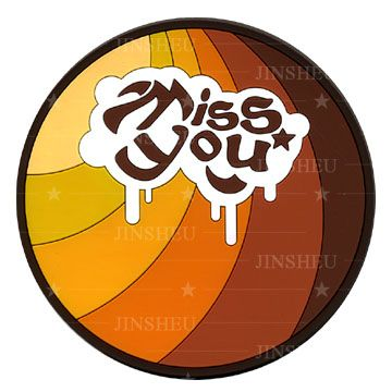 Soft 2D Flexible PVC Coaster - Soft 2D Flexible PVC Coaster