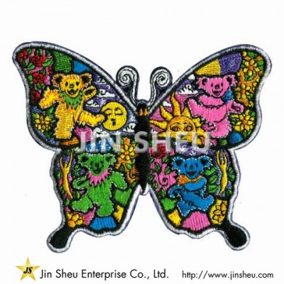 Embroidery Butterfly Patches - Embroidery Butterfly Patches