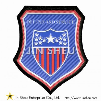 Custom PVC Military Patches - Custom PVC Military Patches