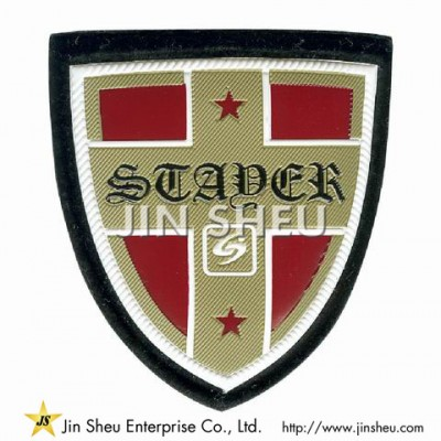 Puffed Embossed PVC Patches - Puffed Embossed PVC Patches