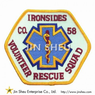 Embroidered Rescue Patches - Embroidered Rescue Patches