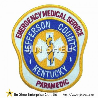 Fire & Rescure Embroidery Patches - Fire & Rescure Embroidery Patches
