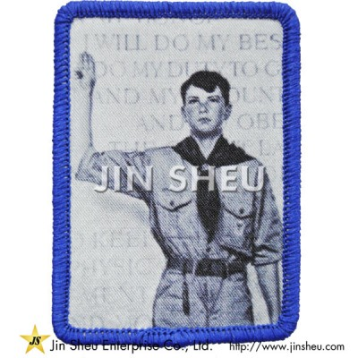Iron on Dye Sublimated Patch - Iron on Dye Sublimated Patch