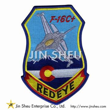 Aircraft Embroidery Patches