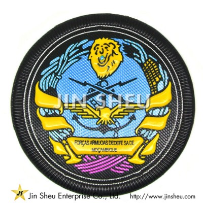 Customized  PVC Embroidered Patches