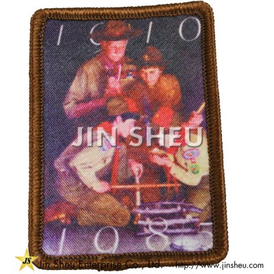 Dye Sublimation Embroidered Patch