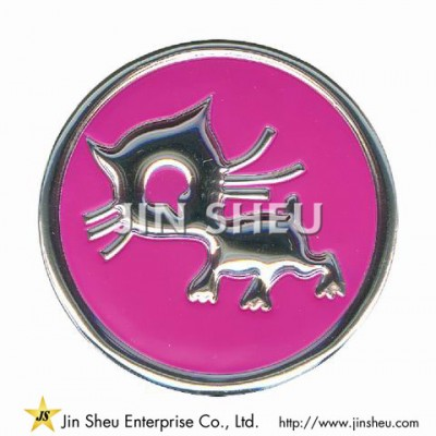 Embossed PVC Patches Manufacturer