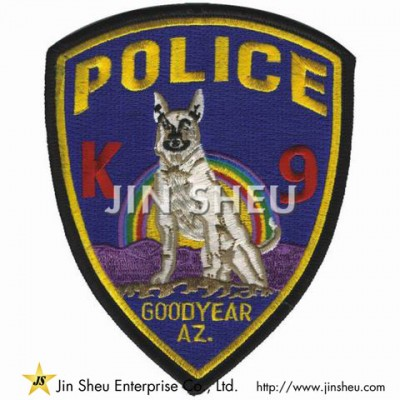 Custom K9 Embroidery Patches - Custom K9 Embroidery Patches