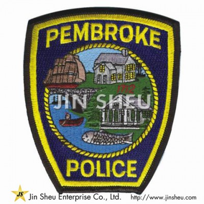 Embroidery Police Badges - Police Patches