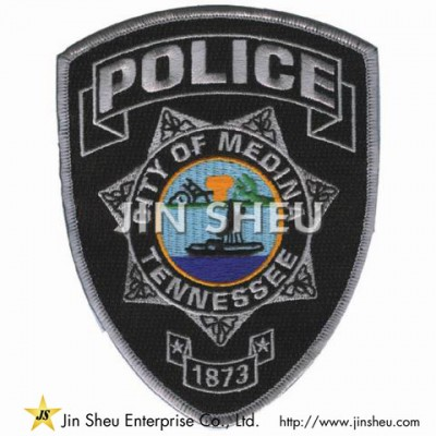 Custom Police Patches - Police Uniform Badges