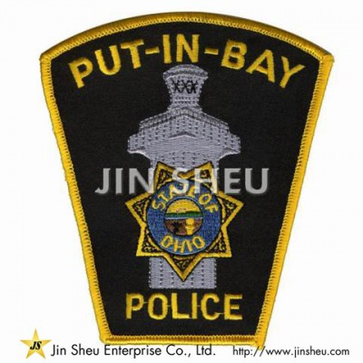 China Embroidery Patches - Police Uniform Patches