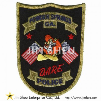 Police Patches Supplier - Security Embroidery Patches