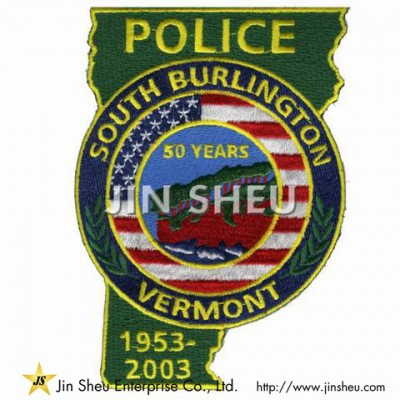 Police Uniform Patches - Patrol Patches