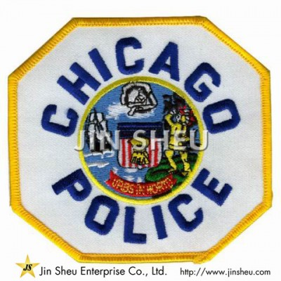 Patrol Embroidery Patches - Chicago Police Patches