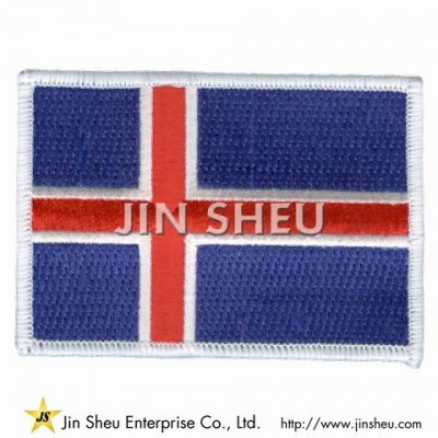 Embroidered Country Flags - Embroidered Country Flags