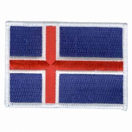 Embroidered Country Flags - Embroidered Country Flags