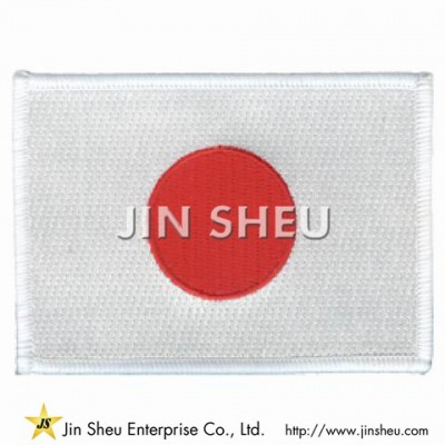 Japan Flag Patches - Japan Flag Patches