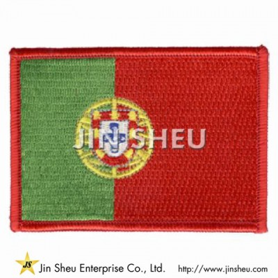 Portugal Flag Patch - Portugal Flag Patch
