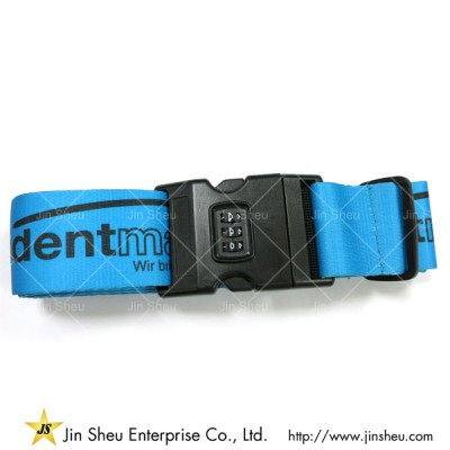 Luggage Belt Strap with Lock - Luggage Belt Strap with Lock