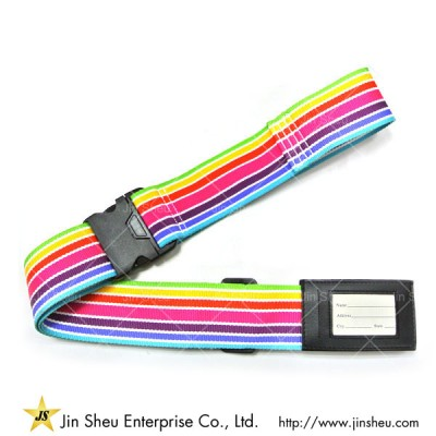 Promotional Polyester Luggage Strap With Detach Buckle - Promotional Polyester Luggage Strap With Detach Buckle