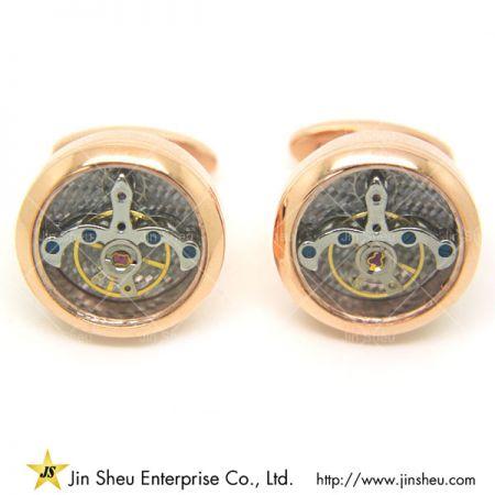 Watch Movement Cuff Links - mechanism watch cufflinks