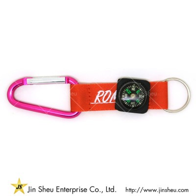 Outdoor Compass Carabiner - Outdoor Compass Carabiner