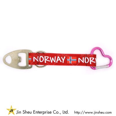 Carabiner Short Lanyards Metal Bottle Opener Manufacturer - Carabiner Short Lanyards Metal Bottle Opener Manufacturer
