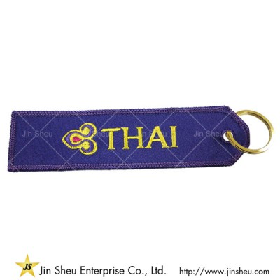 Pilot Embroidered Keychains - Pilot Embroidered Keychains