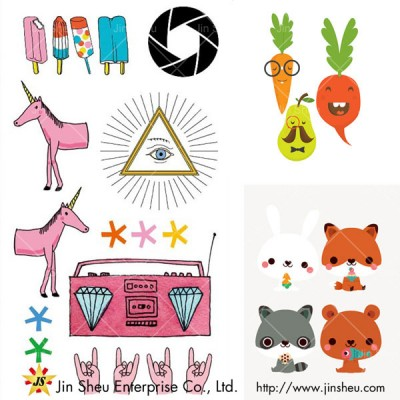Cute Temporary Tattoo Stickers - Cute Temporary Tattoo Stickers