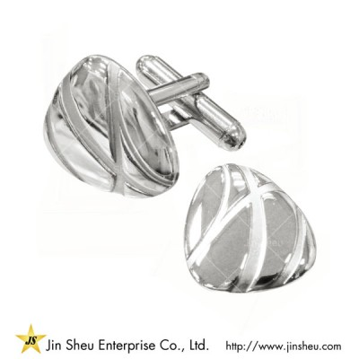 Custom Sterling Silver Cufflinks - Custom jewelry 925 sterling silver souvenirs