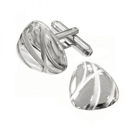 Custom Sterling Silver Cufflinks - Custom jewelry 925 sterling silver souvenirs