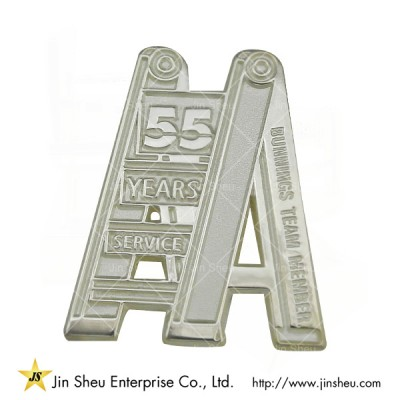 Sterling Silvers Lapel Pins - Custom jewelry 925 sterling silver souvenirs