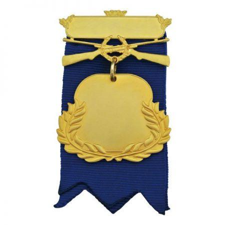 Medals Award with Short Ribbon - Medals Award with Short Ribbon