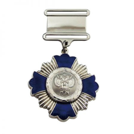 Custom Cheap Military Medal with Short Ribbon Drape - Custom Cheap Military Medal with Short Ribbon Drape