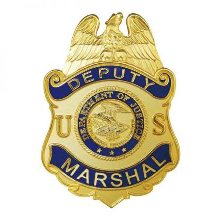 Deputy Marshal Badges - Custom Deputy Marshal Badges