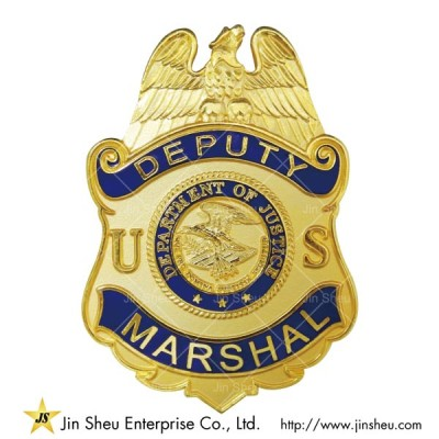 Deputy Marshal Badges - Custom Deputy Marshal Badges