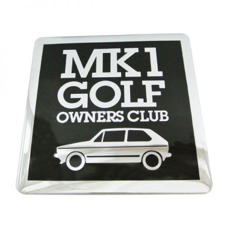 Custom Auto Grille Club Badge
