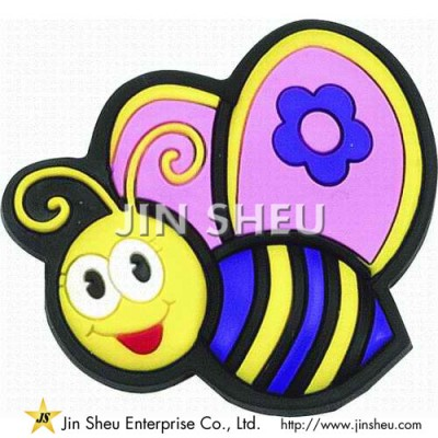 Customized Bee Rubber Magnets - Customized Bee Rubber Magnets